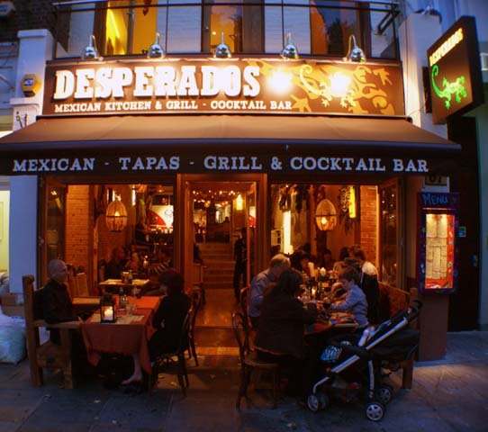 Desperados Mexican Kitchen - Londra